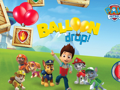 Paw Patrol:Balloon Drop