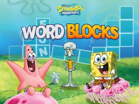 Word Blocks: SpongeBob SquarePants