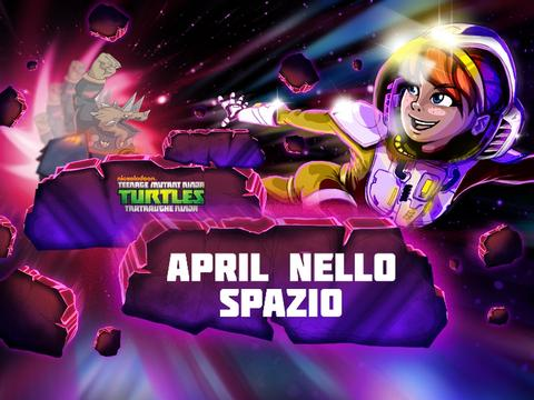 April nello spazio