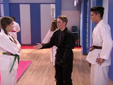 Lezione di karate