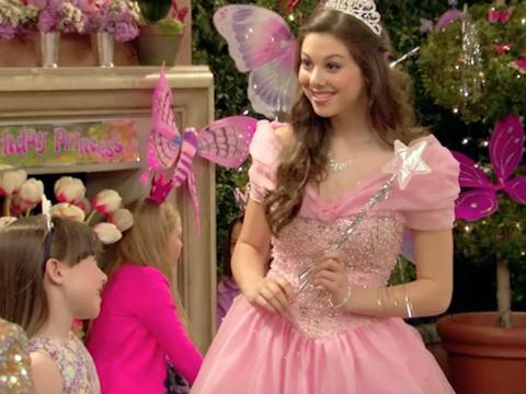 Kira Kosarin è una principessa