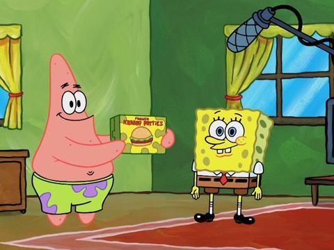 Lo spot dei Krabby Patty surgelati