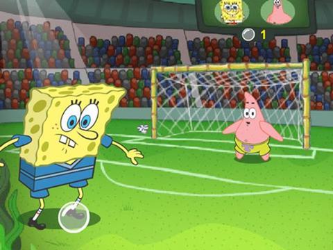Spongebob: Calcio bolla!
