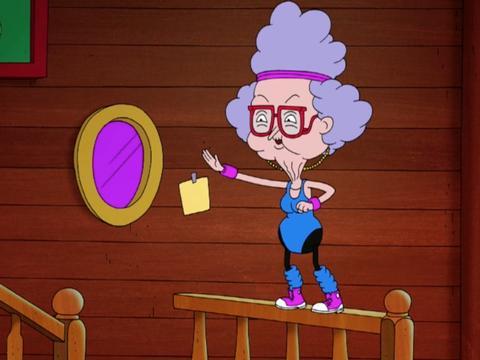 La nonna di Sanjay