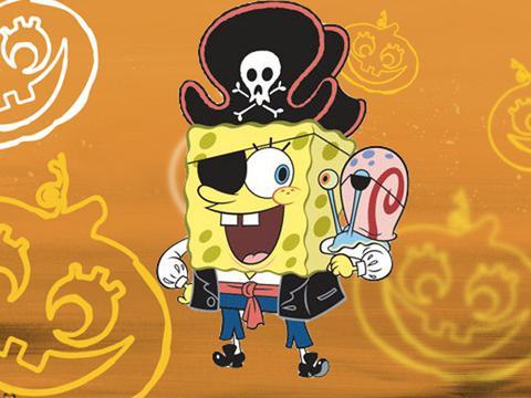 Spongebob nel mare degli zombie