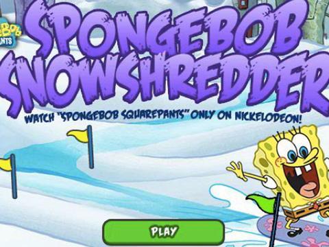 Spongebob: Gara di snowboard