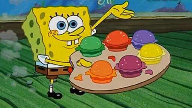 Spongebob colori e sapori - Pagina a colori spongebob ...
