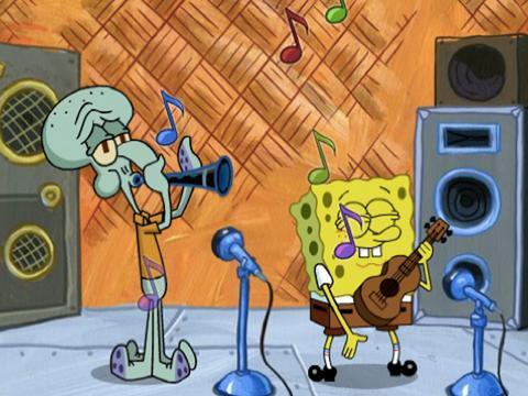 Spongebob in Tour