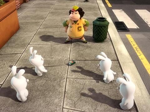 Rabbids: Boy Scout