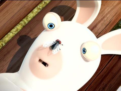 Rabbids Invasion: La Mosca