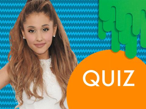 Il quiz di Ariana Grande