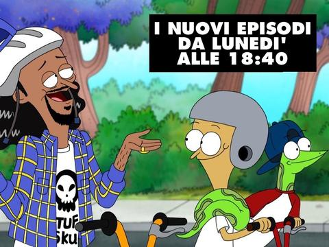 Snoop Dogg incontra Sanjay and Craig!