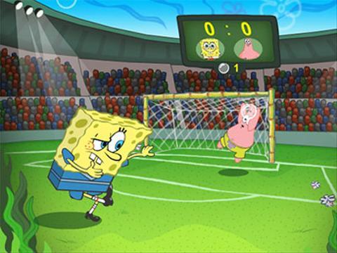 Bob Esponja | Futebol de Bolhas