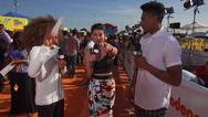 Lookback: Kira Kosarin Orange Carpet Interview