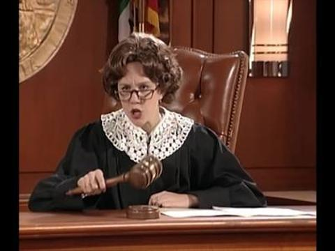 The Amanda Show: Judge Trudy