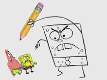 Angry DoodleBob