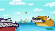 BREADWINNERS   S1   Episódio 109   Breadwinners - Lanchonete do Pumpers/ Pão da troca