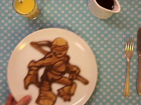 Teenage Mutant Ninja Turtle Pancake