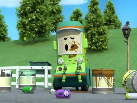 Robocar Poli: We are here for you Mr. Builder