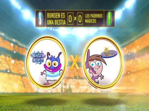 Copa Nick vs Nick | Short | Bunsen es una Bestia Vs Los Padrinos Mágicos