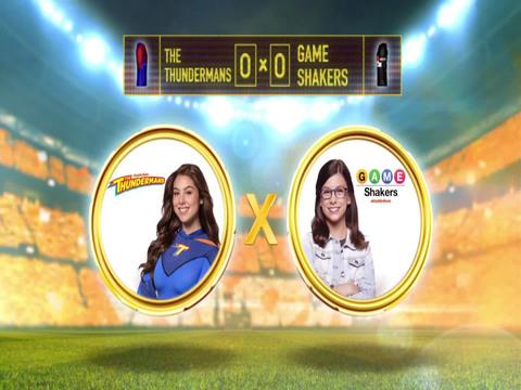 Copa Nick vs Nick | Short | The Thundermans Vs Game Shakers