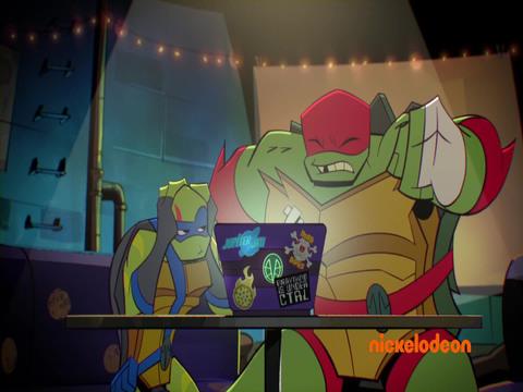 El Ascenso de las Tortugas Ninja | Short | Crush