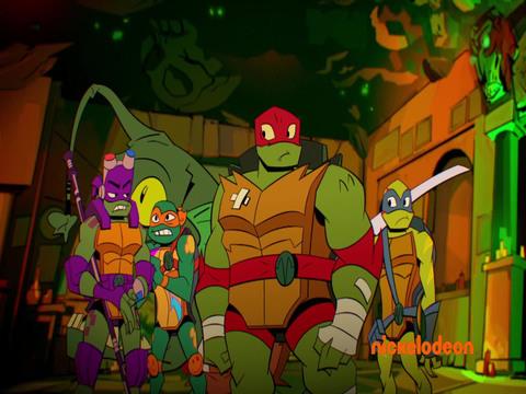 El Ascenso de las Tortugas Ninja | Short | Laberinto de la Muerte