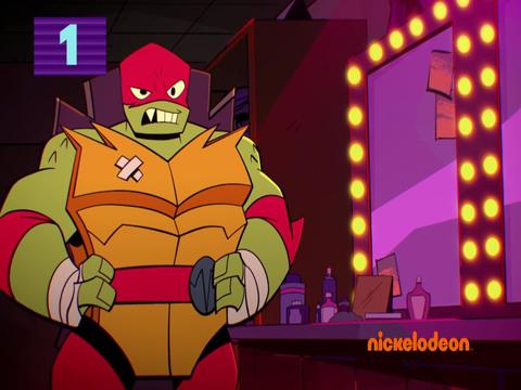 El Ascenso de las Tortugas Ninja | S1 | Escenas graciosas