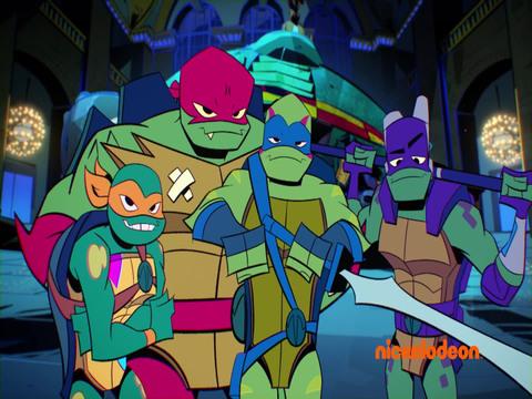 El Ascenso de las Tortugas Ninja | Short | Padre y Maestro