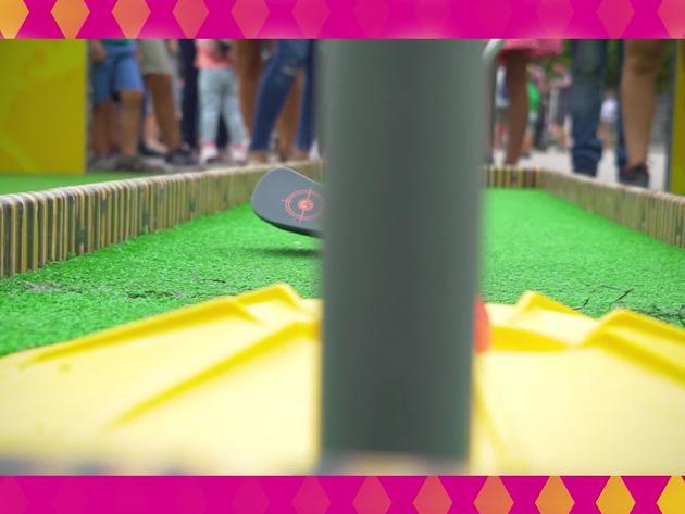 ¡En el Nick Fest lo pasamos en grande con los lanzadores NERF!
