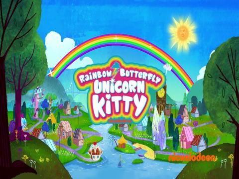 Canción Serie -  La Gata Unicornio Mariposa Arcoíris