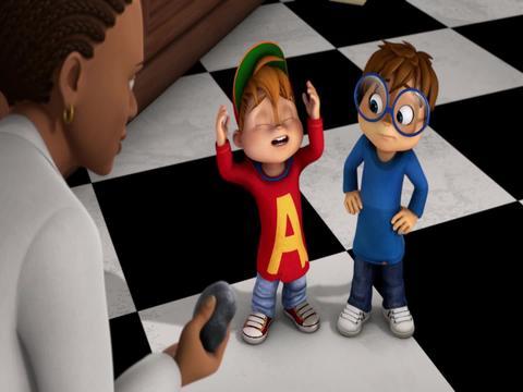 El espacio exterior - Alvin y las ardillas