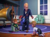 Haciendo de canguro - Alvin y las ardillas