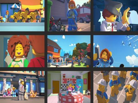 Lego City Kalandok